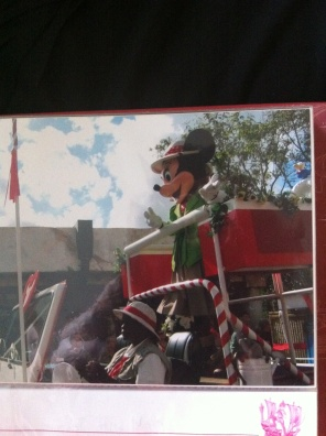 Okay, So I realize this is Minnie and not Mickey, but I thought it best to use my own image. (This was taken when I was ten at Disney World) I just wanted to show how the characters have been used to promote the company and the reason the mouse has been used-